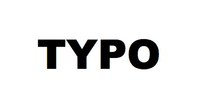 关于typo域名的那些事